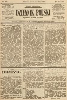 Dziennik Polski (wydanie popołudniowe). 1905, nr336