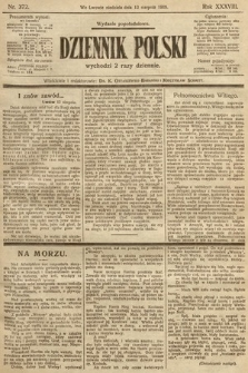 Dziennik Polski (wydanie popołudniowe). 1905, nr372
