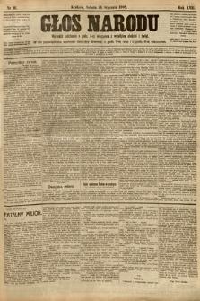 Głos Narodu. 1909, nr16