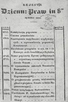 Dziennik Praw. 1833