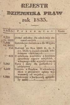 Dziennik Praw. 1835