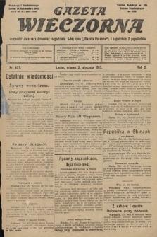Gazeta Wieczorna. 1912, nr457