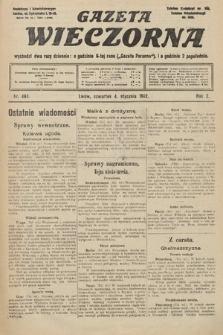 Gazeta Wieczorna. 1912, nr461