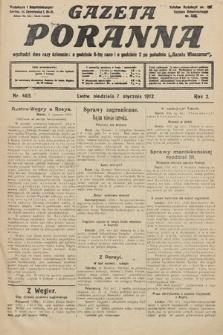 Gazeta Poranna. 1912, nr465