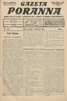 Gazeta Poranna. 1912, nr467