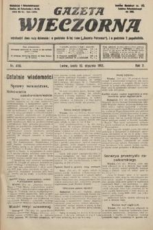 Gazeta Wieczorna. 1912, nr470