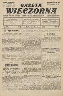 Gazeta Wieczorna. 1912, nr478