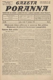 Gazeta Poranna. 1912, nr481