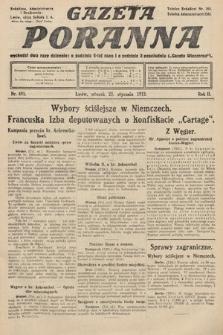 Gazeta Poranna. 1912, nr491