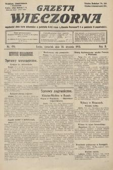 Gazeta Wieczorna. 1912, nr496