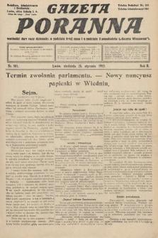 Gazeta Poranna. 1912, nr501