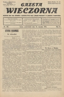 Gazeta Wieczorna. 1912, nr502
