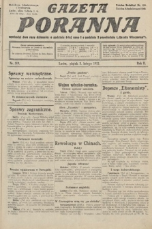 Gazeta Poranna. 1912, nr509