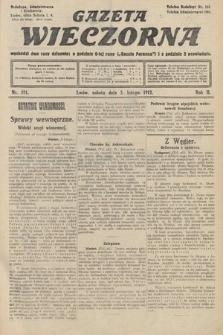 Gazeta Wieczorna. 1912, nr511