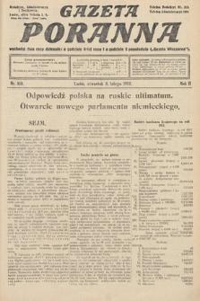 Gazeta Poranna. 1912, nr518