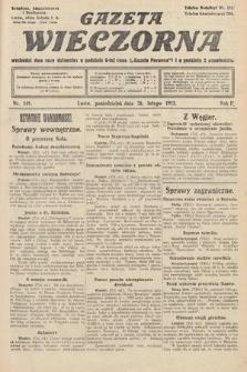Gazeta Wieczorna. 1912, nr549