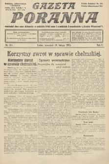 Gazeta Poranna. 1912, nr554