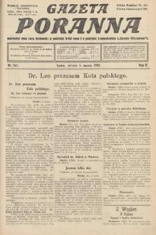 Gazeta Poranna. 1912, nr562