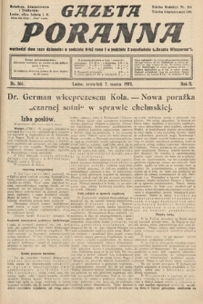 Gazeta Poranna. 1912, nr566