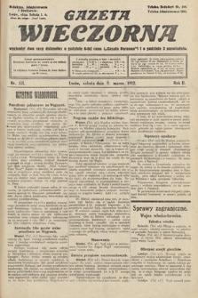 Gazeta Wieczorna. 1912, nr571