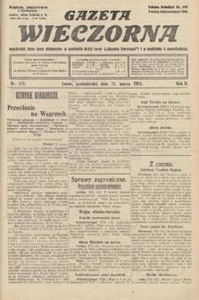 Gazeta Wieczorna. 1912, nr573