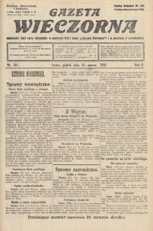 Gazeta Wieczorna. 1912, nr581