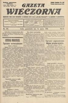 Gazeta Wieczorna. 1912, nr585