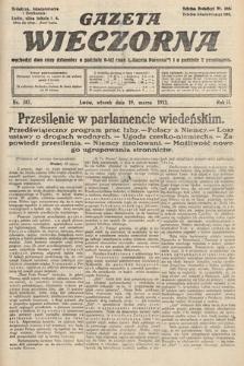 Gazeta Wieczorna. 1912, nr587