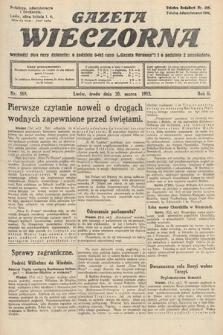Gazeta Wieczorna. 1912, nr589