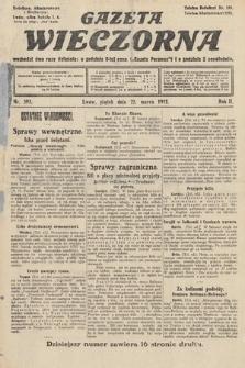 Gazeta Wieczorna. 1912, nr593