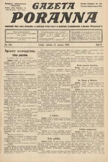 Gazeta Poranna. 1912, nr594