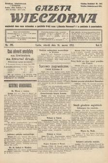 Gazeta Wieczorna. 1912, nr598