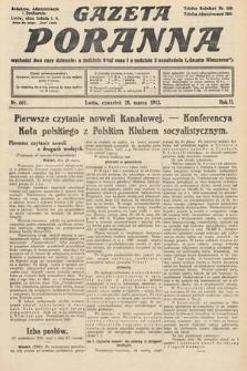 Gazeta Poranna. 1912, nr601