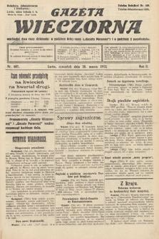 Gazeta Wieczorna. 1912, nr602
