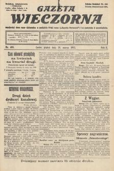 Gazeta Wieczorna. 1912, nr604