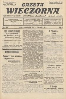 Gazeta Wieczorna. 1912, nr608