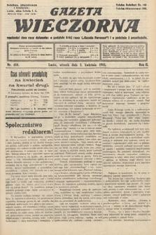 Gazeta Wieczorna. 1912, nr610