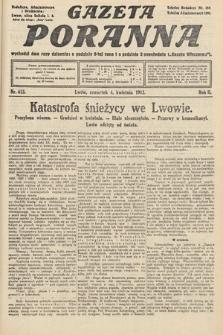 Gazeta Poranna. 1912, nr613