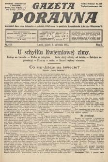 Gazeta Poranna. 1912, nr615