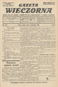 Gazeta Wieczorna. 1912, nr618