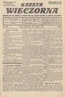 Gazeta Wieczorna. 1912, nr626