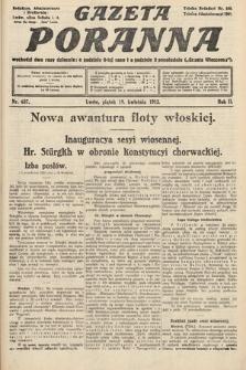 Gazeta Poranna. 1912, nr637