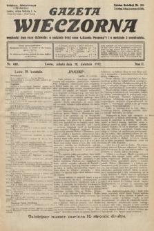 Gazeta Wieczorna. 1912, nr640