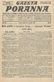 Gazeta Poranna. 1912, nr649