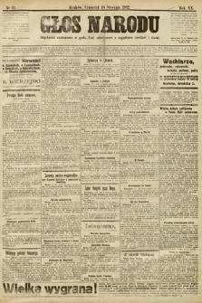 Głos Narodu. 1912, nr13