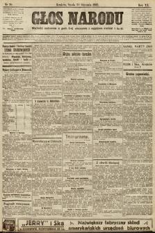 Głos Narodu. 1912, nr18