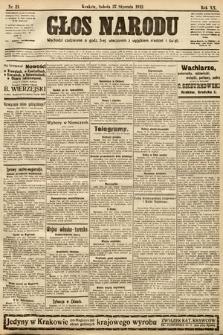 Głos Narodu. 1912, nr21