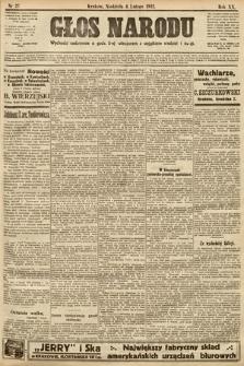 Głos Narodu. 1912, nr27
