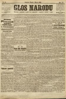 Głos Narodu. 1912, nr49