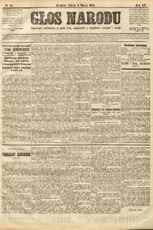 Głos Narodu. 1912, nr56